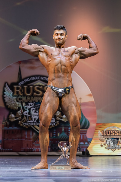 Bodybuilding Novice Overall