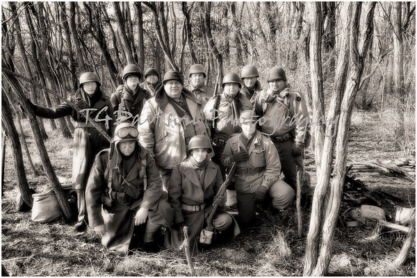 Battle of the Bulge Sommer Park Peoria WWII Event 2018