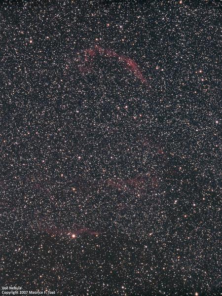 NGC 6960, Crescent Nebula
