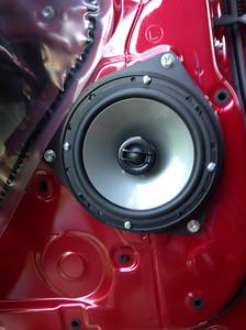 2013 Toyota tundra Double Cab Rear Speaker Installation - USA