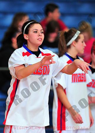 Girls Varsity Basketball - Okemos at Mason - Jan 15