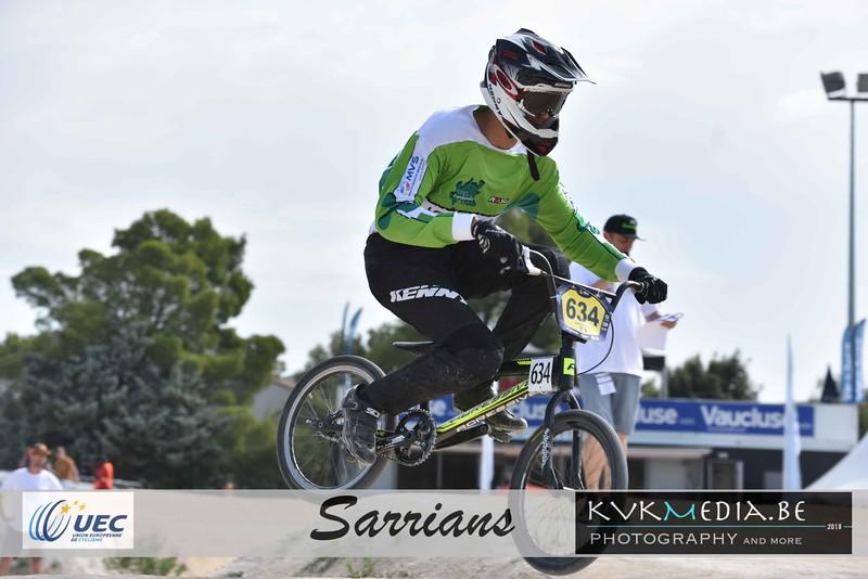 UEC Sarrians +13yr (motos + 1/8e)