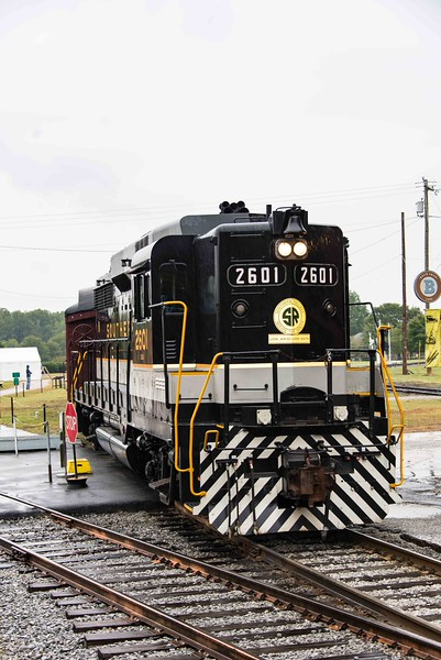 NC Mus of Transportation, Spencer NC Oct15