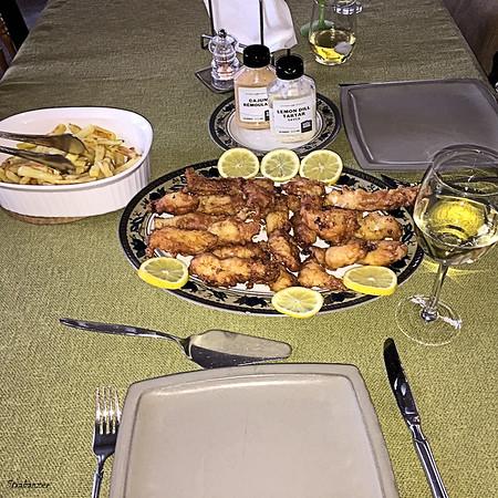 Deep Fried Sole / Cod Amandine