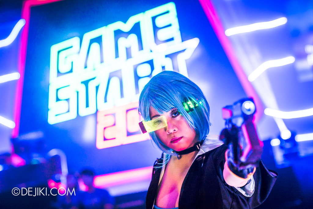 GameStart Asia 2017 Singapore gaming convention - Alyse