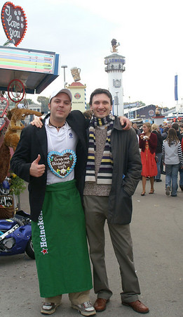 Visiting Erik: Oktoberfest Munich 2007
