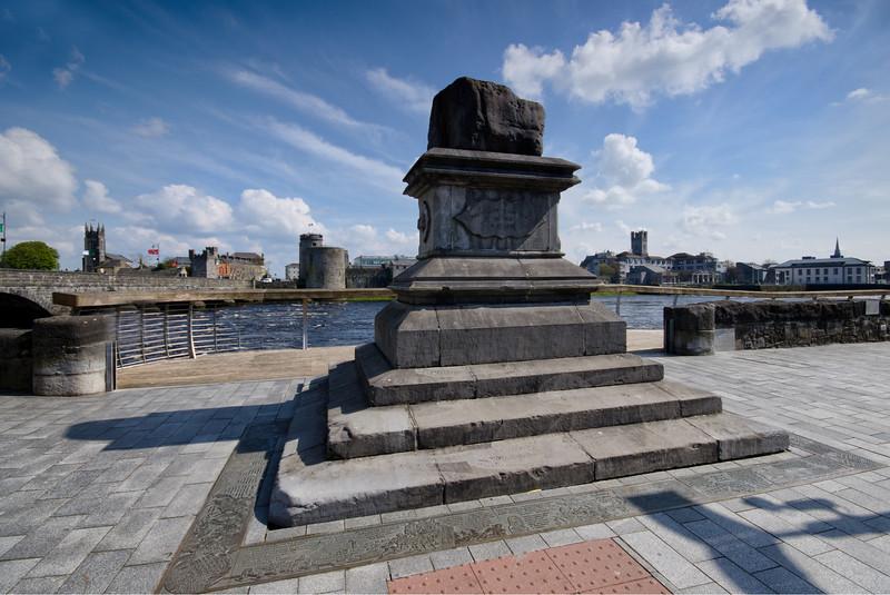 The treaty Stone in Limerick