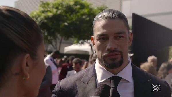 Roman Reigns - Screencaps/ Espys Red Carpet (WWE Video)