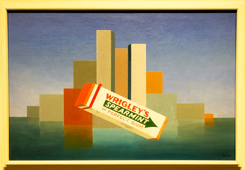 "Charles Green Shaw: ""Wrigley's, 1937"""