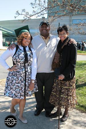 Jennifer Dumas Graduation Photos | New Grace Apostolic/Eastern Michigan