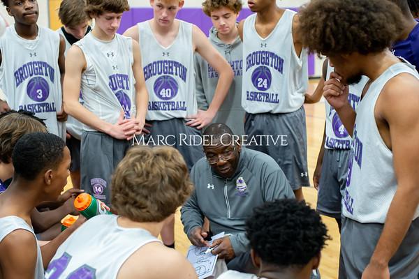 Broughton basketball vs Northern Nash. November 13, 2019. D4S_9370