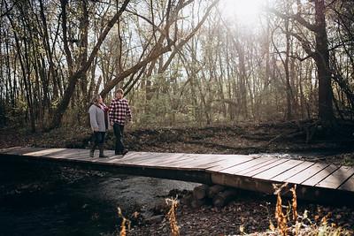 Jill + Colton | Hobb's Woods Engagement Session
