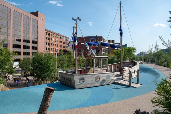 Martin's  Park - Boston Seaport