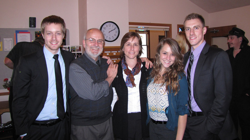 Giombi family- Jered, Danny and Laurie, Molly and Kyle