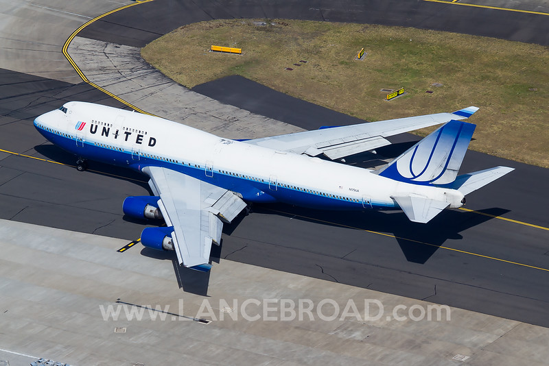 United 747-400 - N179UA - SYD