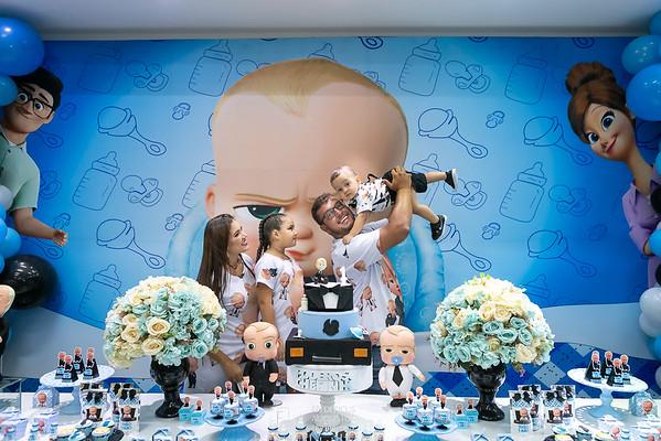 Festa do Poderoso Chefinho do Théo no Espaço Algazarra Kids