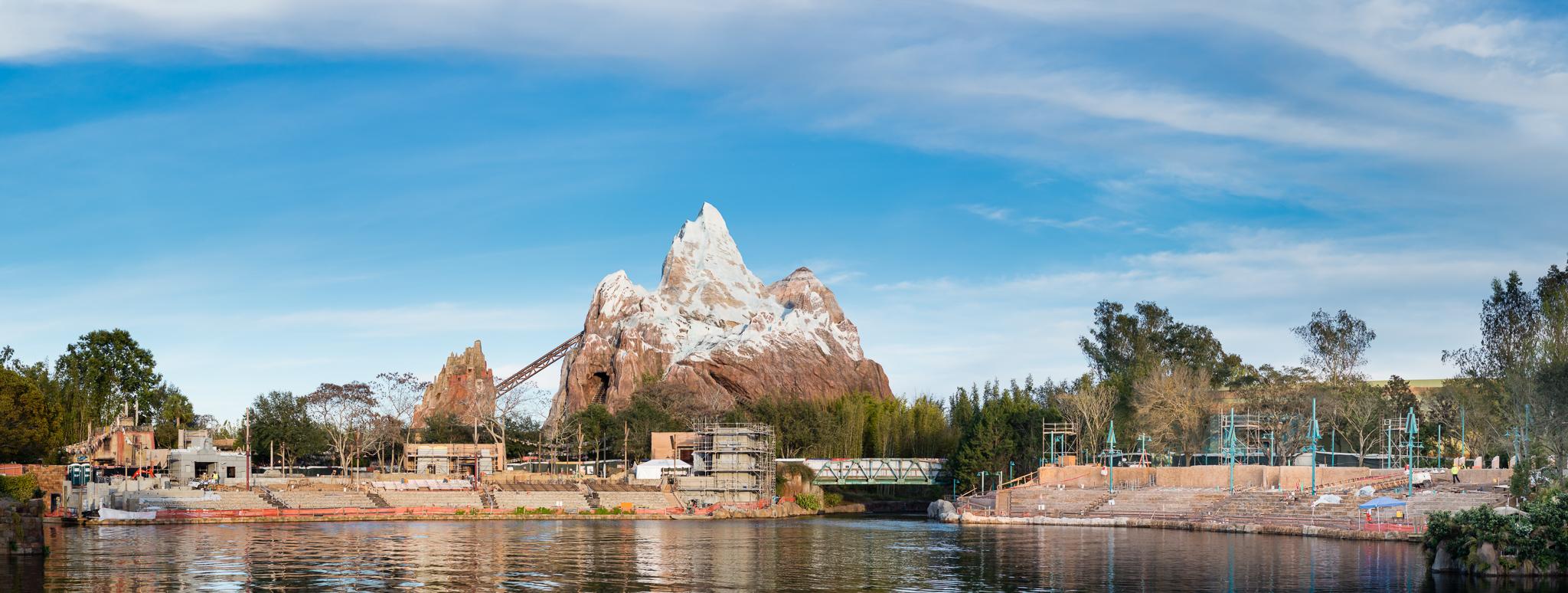 Rivers of Light Construction Progress - Disney's Animal Kingdom