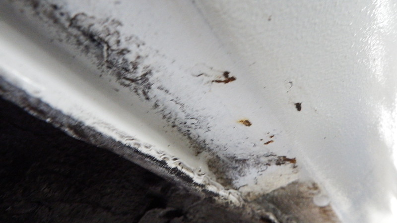 RUST SPOTS COMING THROUGH LOWER SILLS