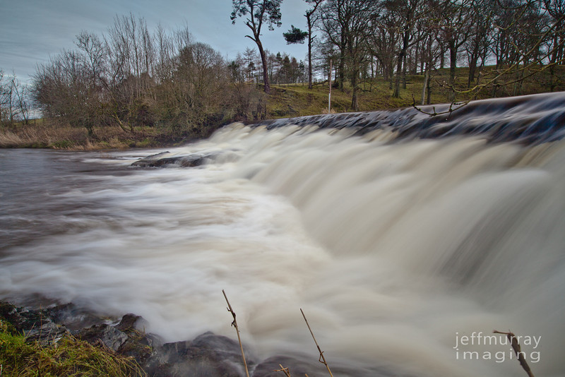 Right on to Waterfoot Falls.