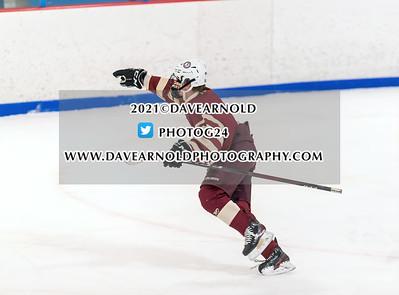 2/17/2021 - Boys Varsity Hockey - Arlington vs Stoneham