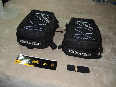 Touratech rack pannier bags