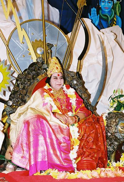 Navaratri Puja, 1 October 1995, Cabella Ligure Italy