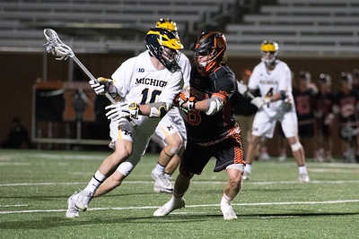 Michigan at Mercer Men's Lacrosse 2017
