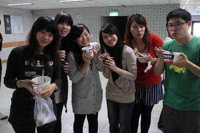20111223 燒酒雞餐會