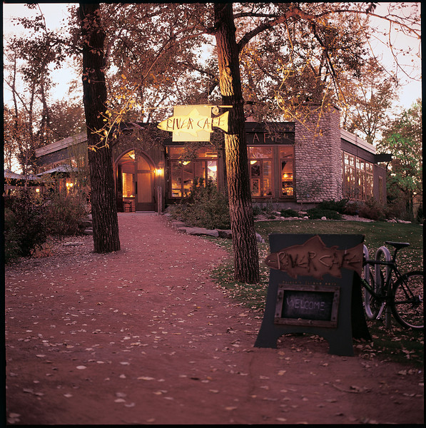 River Café Pathway in Fall