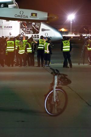 Solar Impulse 2 with Stromer Bikes