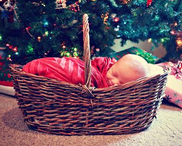 Christmas baby {newborn}