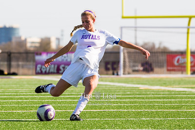 Varsity Soccer (Girls) vs Ada, April 12