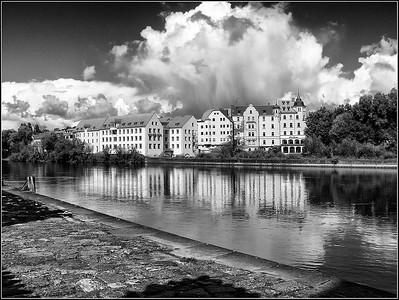 Regensburg 2007-2018 black and white
