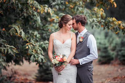 Trinity Tree Farm Wedding | Alli + Kurt | Seattle Wedding Photographer