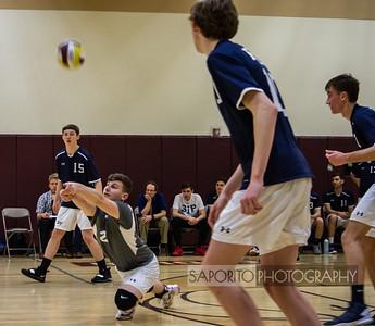 St. John's Prep Varsity Volleyball vs. Boston College High School