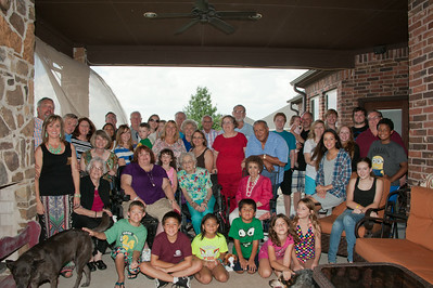 2014/08/09 Pior Family Reunion - Haslet, Tx