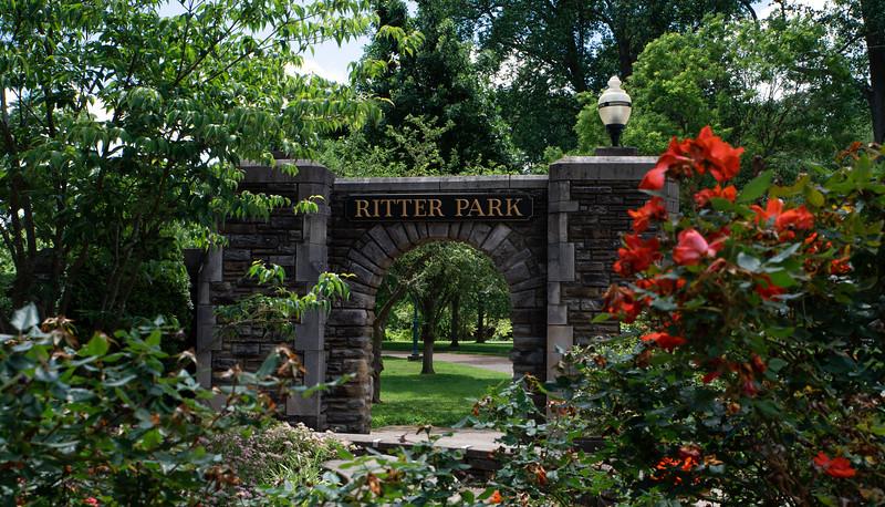 5.28.20 Ritter Park Entrance