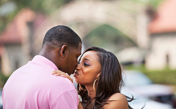 Marquita and Claudell E-Session Candids