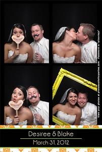 Desiree and Blake Wedding