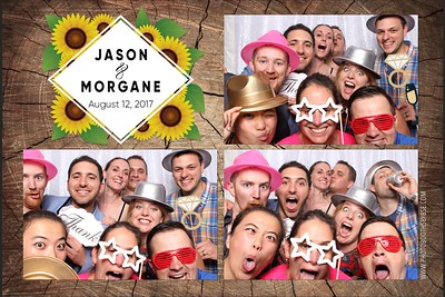 Jason & Morgane's Wedding Photo Booth