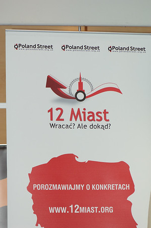 """12 cities project: Is Warsaw a better place to live than London?   We wish to invite you to the next meeting within the framework of the """"12 Cities Project: Come back? But where? – let's talk about facts"""".   The Mayor of the City of Warsaw – Ms. Hanna Gronkiewicz – Waltz attending """"12 Cities Project : Warsaw"""" organized by Poland Street at Hotel NOVOTEL, W6, London on 18th July 2009"""