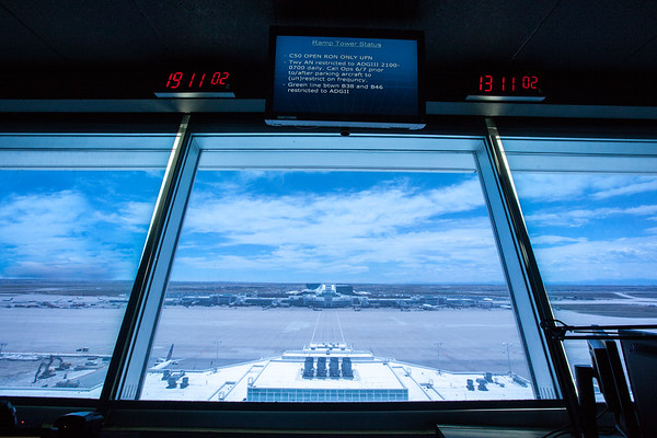 Concourse B Control Tower