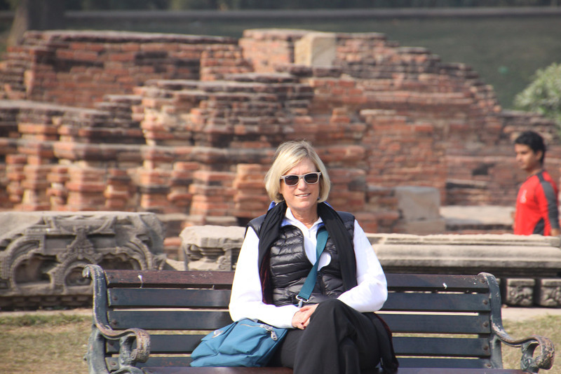 ruins of Sarnath where Buddah first spoke