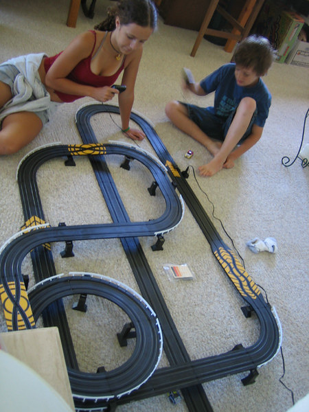 Slot cars race again!
