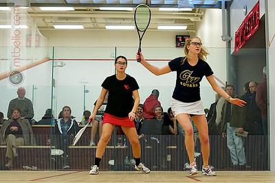 2010-12-04 Lauren Mathieu (George Washington) and Grace Zimmerman (Wesleyan)