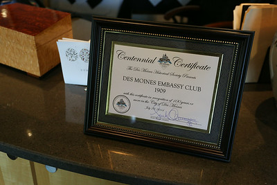 Embassy Club Board of Directors  7/29/2014