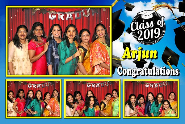 Arjun's High School Graduation