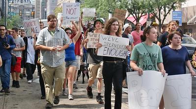 Anti Syria War March - Philadelphia - 8/31/13