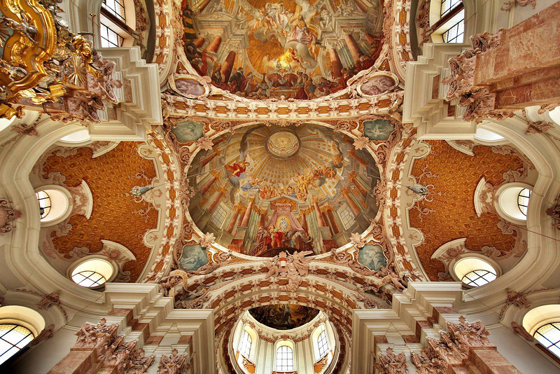 St. James Cathedral, Innsbruck, Austria.