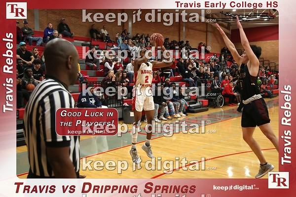02_14_20 Travis vs Dripping Springs Boys Bball